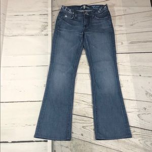 For all 7 mankind high waist bootcut jeans